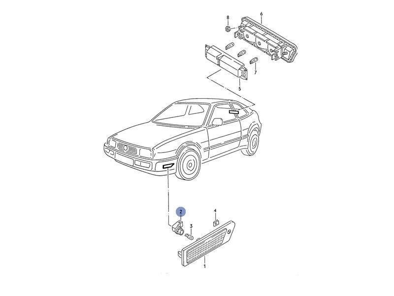 service manual  1992 volkswagen corrado front brake rotor