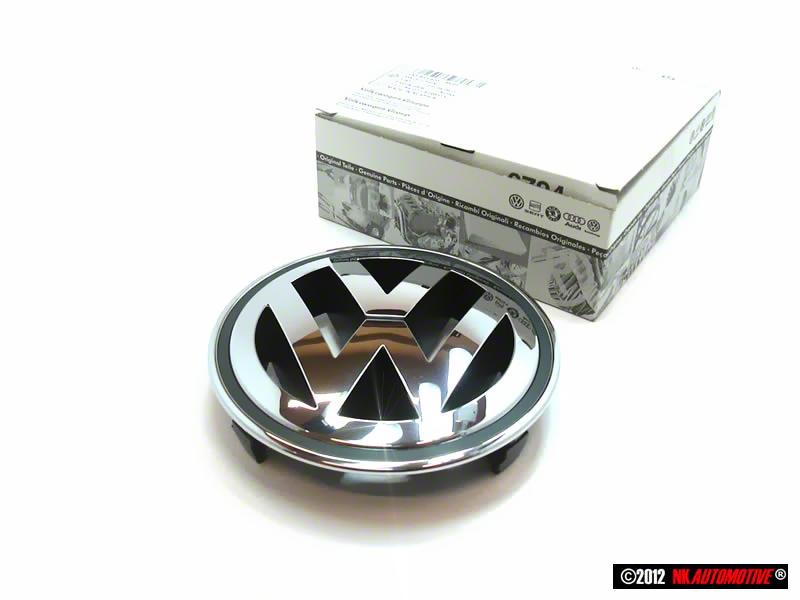 Original VW Front Grill Badge Emblem Chrome 3C0853600A